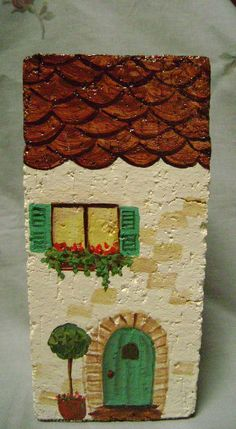 French Apartment Hand Painted Doorstop by susansjewelsandmore, $21.00