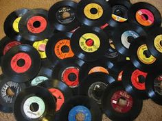 """Buying every song I loved on 45 - my first 2 records were Joan Jett & the Blackhearts """"I love Rock & Roll"""" and The J. Geils Band """"Centerfold"""""""