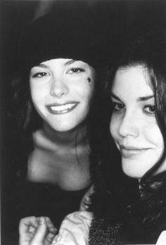 Mia Tyler and Liv Tyler
