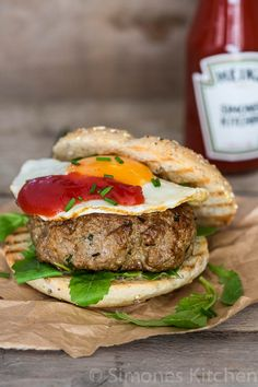 Zet je burger op de kaart - Roquefort burger | Simone's KitchenSimone's Kitchen