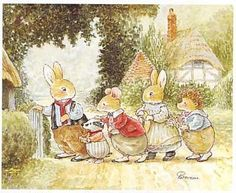 Visiting Rosie Rabbit (S) (*)Patterson