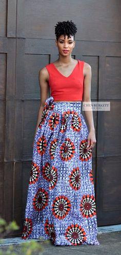 The Poppy Maxi skirt a classic full skirt gently gathered and sits comfortably at the waist. The African Print Skirt. Ankara | Dutch wax | Kente | Kitenge | Dashiki | African print dress | African fashion | African women dresses | African prints | Nigerian style | Ghanaian fashion | Senegal fashion | Kenya fashion | Nigerian fashion | Ankara crop top (affiliate)