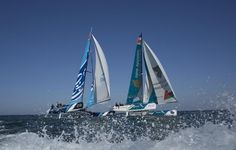 Sail-World.com : Extreme Sailing Series 2014 - Oman Sail crews relish 'critical' point