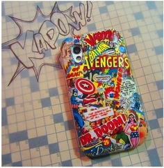 How To: Comic Book Phone Cover