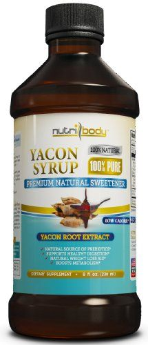 nutribody 100% PURE Yacon Syrup - 100... $29.95 #NUTRIBODY