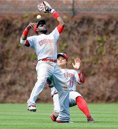 Brandon Phillips and Shin-Soo Choo, Cincinnati Reds