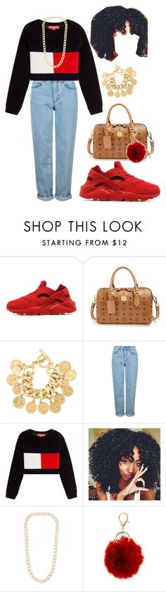 """""""Tommy Hilfiger outfit #1"""" by thaidor on Polyvore featuring NIKE, MCM, Chanel, Topshop, Vita Fede and BP."""