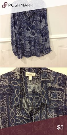 Dress Barn blouse 3X good condition Size 3X Dress Barn blouse good condition Dress Barn Tops Blouses
