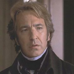 Alan Rickman as Colonel Brandon in Sense & Sensibility