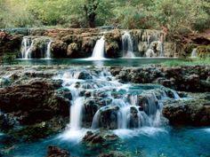 Iceland. BEAUTIFUL waterfalls. I'm going.