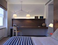 Dormitorio con lámpara TOLOMEO #Artemide #Tdtesta