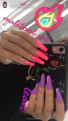 Diy Acrylic Nails, Acrylic Nail Shapes, Summer Acrylic Nails, Colourful Acrylic Nails, Aycrlic Nails, Coffin Nails, Fire Nails, Luxury Nails, Yellow Nails