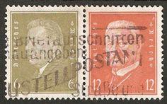 DR 1932 REICHSPRÄSIDENTEN MiNr 465-466
