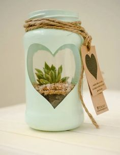 Cute Crafts, Crafts To Make, Easy Crafts, Crafts For Kids, Mason Jar Crafts, Bottle Crafts, Plants In Bottles, Valentine's Day Greeting Cards, Christmas Wood