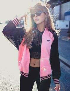 Rita Ora x  adidas Originals Supergirl Track Jacket by Kenzas Buy it @ adidas US | adidas UK