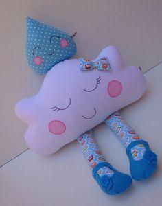 cloud pillow cloud doll raindrops cloud by dollsfofurasbyleila Kit Bebe, Cloud Pillow, Rain Drops, Projects For Kids, Hello Kitty, Dinosaur Stuffed Animal, Clouds, Dolls, Pillows