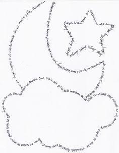 Literatura Infantil - Bienvenidos -: Caligramas para la naturaleza