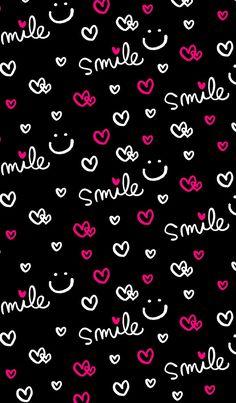 36 ideas wall paper celular preto frases for 2019 Cute Panda Wallpaper, Smile Wallpaper, Phone Screen Wallpaper, Emoji Wallpaper, Kitty Wallpaper, Wallpaper Iphone Cute, Pink Wallpaper, Colorful Wallpaper, Galaxy Wallpaper
