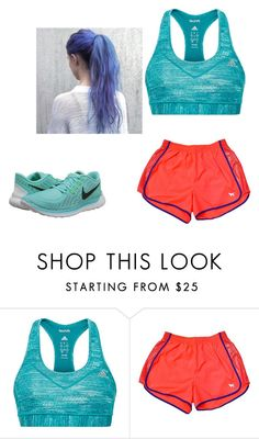 """Going for a run"" by kkmahony ❤ liked on Polyvore featuring adidas, Victoria's Secret and NIKE"