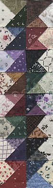 Boston quilt block - great border idea!