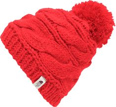 1b38b154deb The North Face Women s Triple Cable Pom Beanie