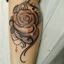 rose lace tattoo - Google-Suche