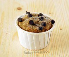Banana Espresso Chocolate Chip Muffins - recipe at bakerstreet.tv