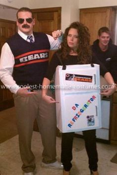 homemade ditka costume ive already been ditka i could totally be da fridge too