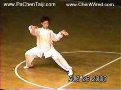 Chen Taijiquan demo from Chen Xiaowang's son, Chen Pengfei