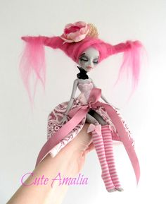 RESERVED CHUSLOVE  OOAK  Monster high doll  by cuteamaliadolls, $93.00