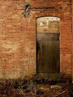 Door to Vandalia Abandonment by Equinox27, via Flickr