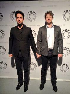 Edward Weeks and Ike Barinholtz arrive at Paleyfest March, 2014
