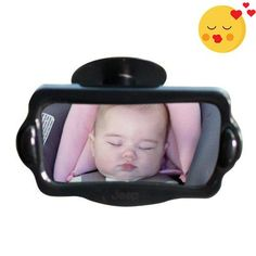 The #Jeep Baby view mirror is a must have to help keep and eyes on your baby while driving. No more turning around to see your baby while you drive. One look in ...