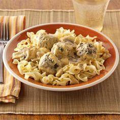 Italian Stroganoff Recipe by Taste of Home
