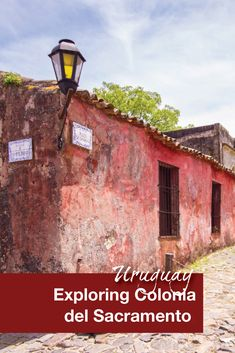 Colonia del Sacramento in Uruguay is an easy day trip from Buenos, Aires Argentina. When traveling to Colonia del Sacramento with kids, stop by Calle de los Suspiros. Our kids loved exploring all the shops.