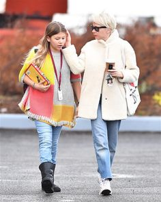 Michelle Williams and Matilda Ledger walked together in Brooklyn on Jan. 12.
