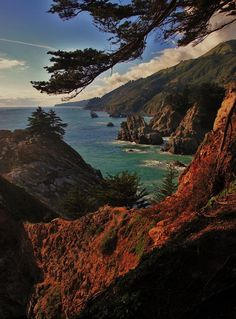 ✯ California coast view from Pfeiffer Burns State Park