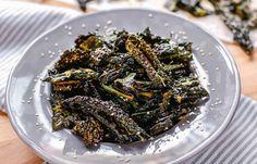 Kale Chips  #Ricette con il #kale: il cavolo nero tanto amato in #America