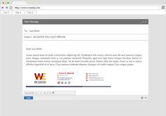 Design Email Signature And Convert Into Html By Waziullah Email Signatures Web Development Design Design