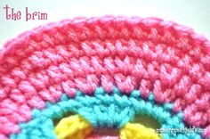 Learn how to crochet a brim for any sun hat! Free pattern.