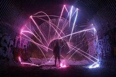 De superbes exemples de Light Painting