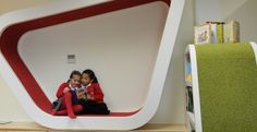 St Mary's Purton Primary Library by Dominique Brown