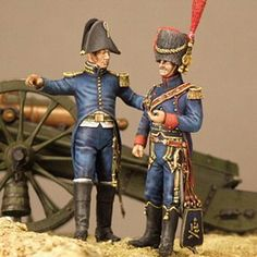 French Napoleonic Horse Artillery Uniforms | OF ARTILLERY FRENCH ADJUTANT-COMMANDANT (LEFT) AND HORSE ARTILLERY ...