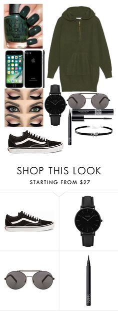 """""""Jumper dress"""" by jessleighxox ❤ liked on Polyvore featuring beauty, Vans, CLUSE, Seafolly, NARS Cosmetics, Christian Dior and Giani Bernini"""