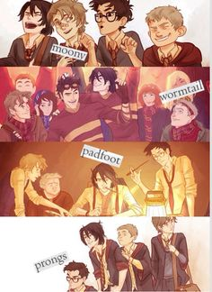 The Marauders! Nothing will change my love for the marauders!