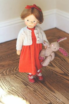 doll by e. pongratz bunny by The Craggy Moore