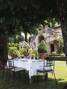 Villa Cetinale in Tuscany AD May 2014