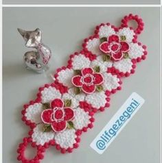 Elsa, Crochet Earrings, Floral, Flowers, Model, Crochet Flowers, Scale Model, Royal Icing Flowers
