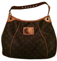 4088788d3b4b Galliera Hobo Pm Handbag Brown Monogram Leather/Canvas Shoulder Bag