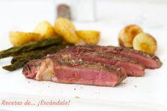 Sous Vide, Carne, Steak, Food, French Onion, Side Dishes, Flat, Meals, Eten